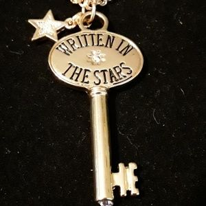 Charter Club, Writen In The Stars Key Necklace